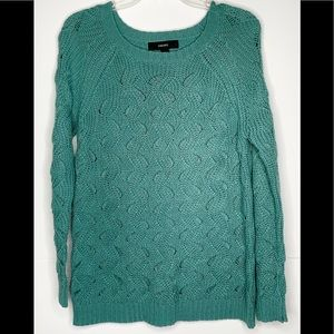 Forever 21 Mint Green Sweater Sz S